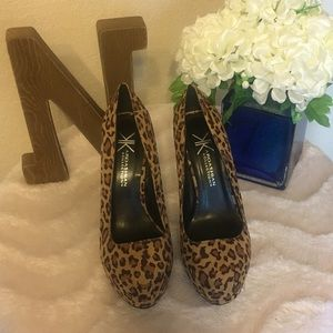 Kardashian Girls Leopard Stilletos